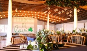 Pirate's Cove Wedding Venue interior
