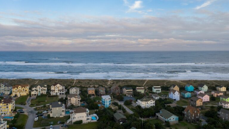 Outer Banks aerial shot